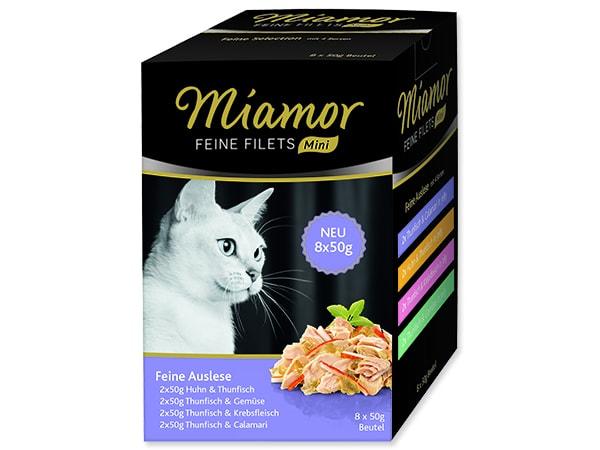 Kapsičky MIAMOR Feine Filets Mini Auslese multipack 400g