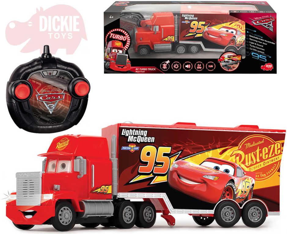 DICKIE RC Auto kamion Mack Truck turbo 46cm Auta (Cars) 2,4GHz na dálkové ovládání