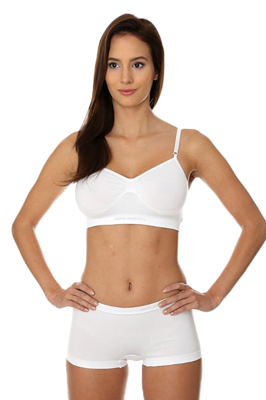 Dámské boxerky BX 10470 white - Bílá/XL