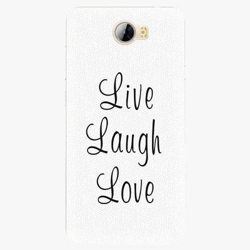 Plastový kryt iSaprio - Live Laugh Love - Huawei Y5 II / Y6 II Compact