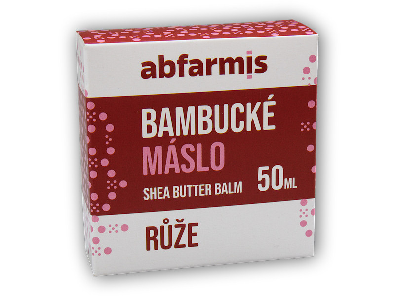 Bambucké máslo růže 50ml