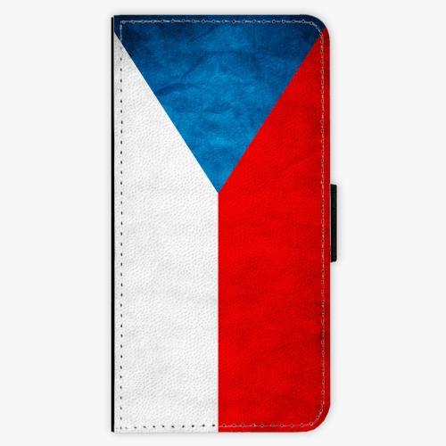 Flipové pouzdro iSaprio - Czech Flag - iPhone 8