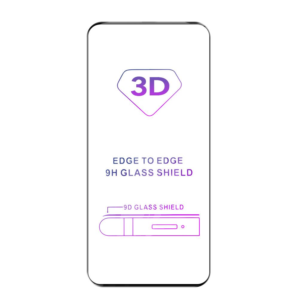 Tvrzené sklo iSaprio 3D BLACK pro Huawei P40 Pro