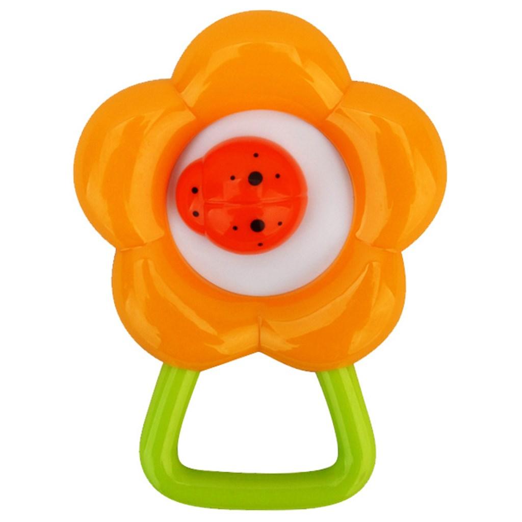 Chrastítko Bayo květinka - oranžová