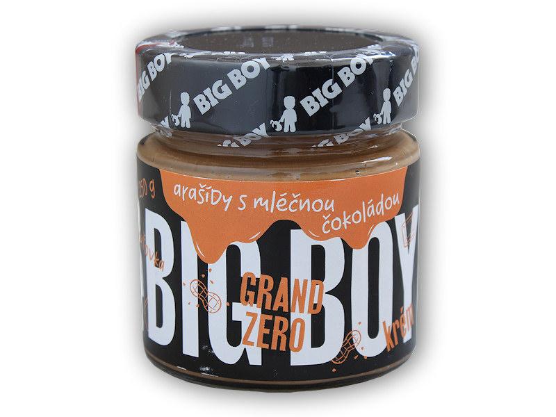 Grand zero <b>arašídový</b> krém <b>mléčnou</b> čoko 250g