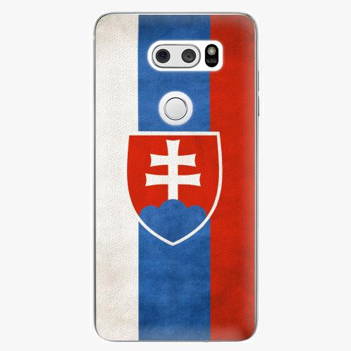 Plastový kryt iSaprio - Slovakia Flag - LG V30