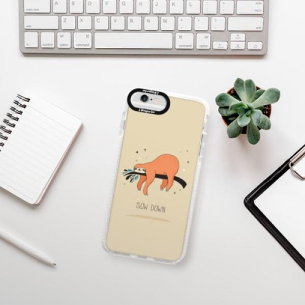 Silikonové pouzdro Bumper iSaprio - Slow Down - iPhone 6/6S
