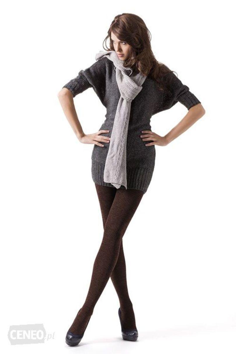 Dámské punčochové kalhoty COTTON MELANGE 350 - MONA
