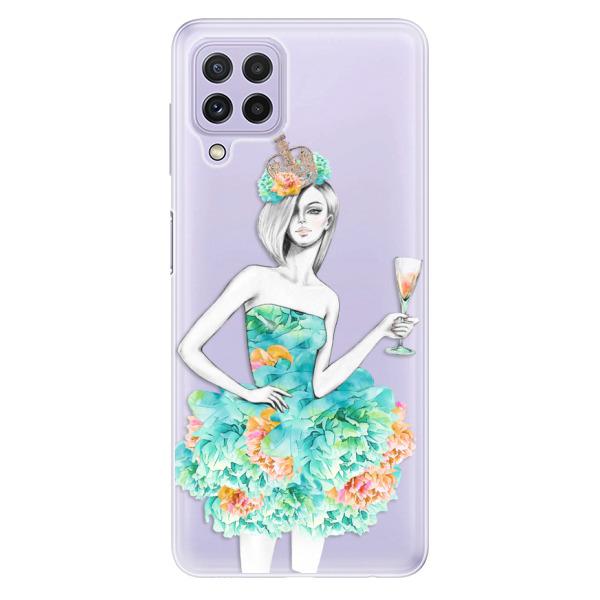Odolné silikonové pouzdro iSaprio - Queen of Parties - Samsung Galaxy A22