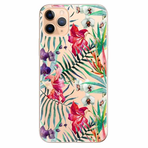 Silikonové pouzdro iSaprio - Flower Pattern 03 - iPhone 11 Pro Max