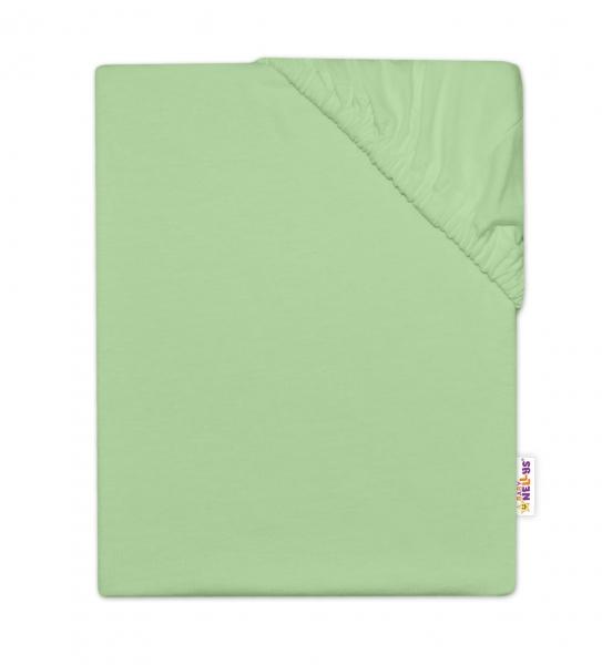 baby-nellys-detske-jersey-prosteradlo-do-postylky-zelena-120x60