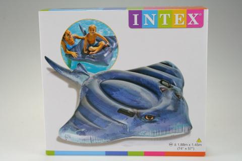 INTEX Vodní vozidlo rejnok 188 x 145 cm 57550
