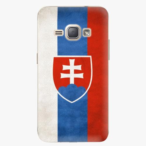 Plastový kryt iSaprio - Slovakia Flag - Samsung Galaxy J1 2016