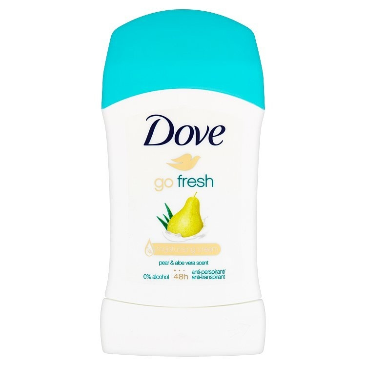 Go Fresh tuhý antiperspirant hruška a aloe vera 40 ml