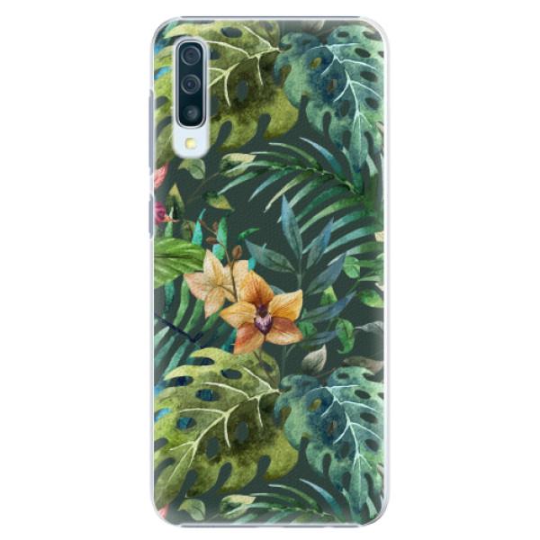 Plastové pouzdro iSaprio - Tropical Green 02 - Samsung Galaxy A50