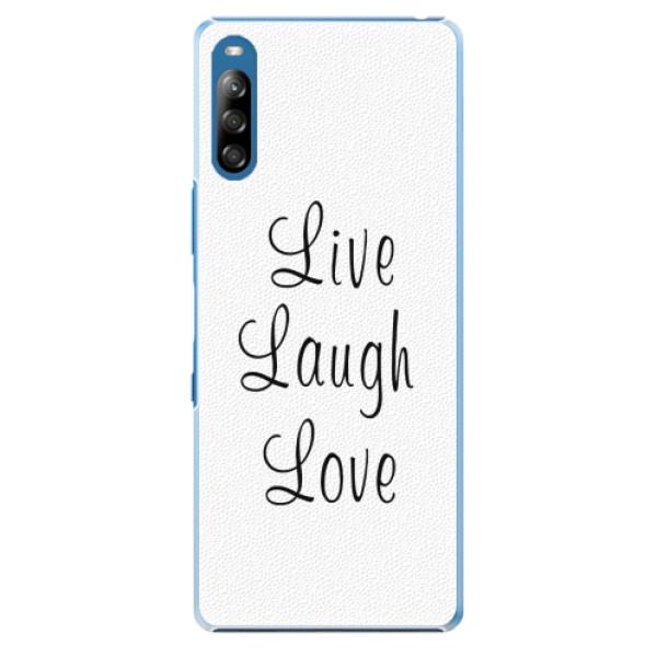 Plastové pouzdro iSaprio - Live Laugh Love - Sony Xperia L4