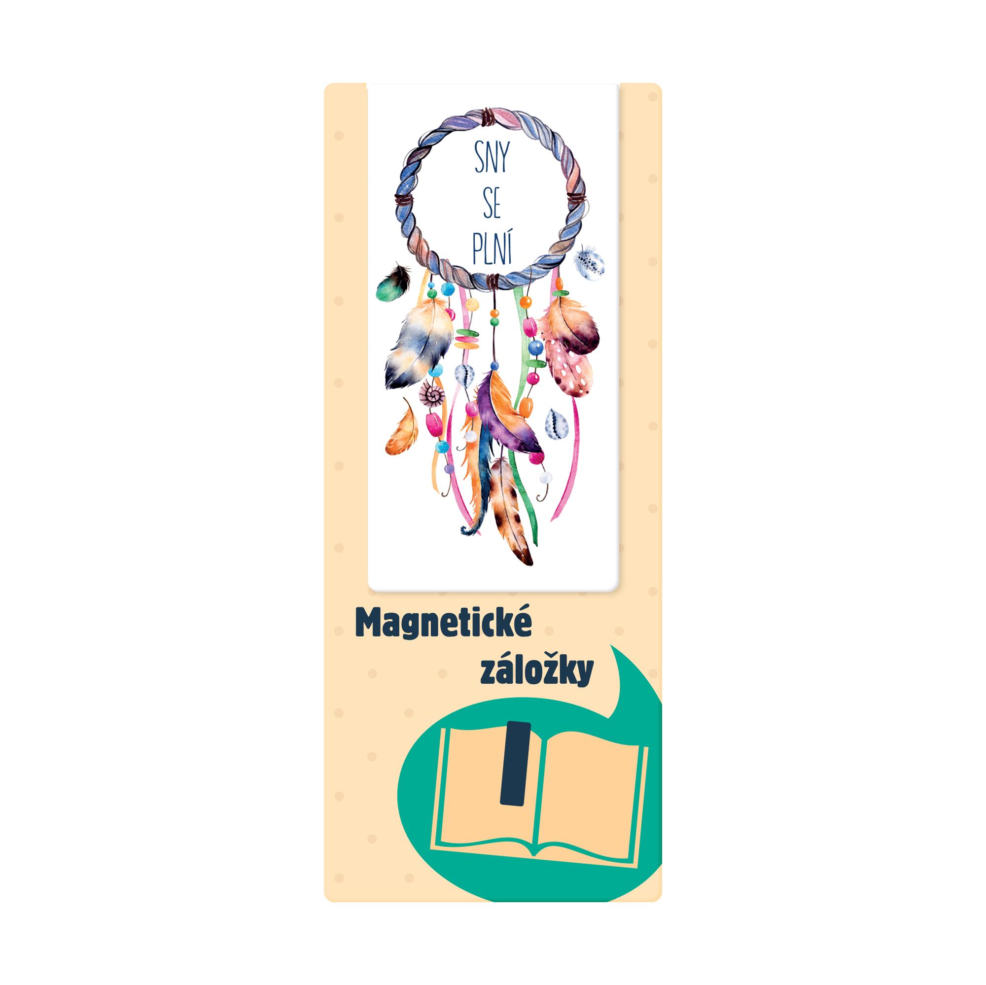 Magnetická záložka - Lapač snů