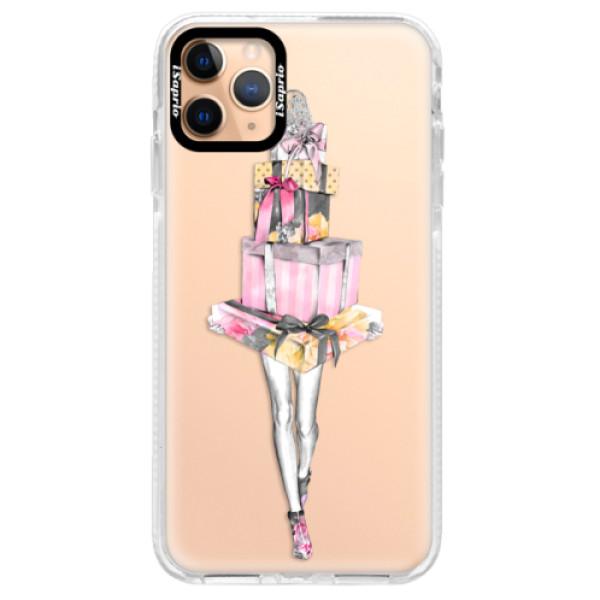 Silikonové pouzdro Bumper iSaprio - Queen of Shopping - iPhone 11 Pro Max
