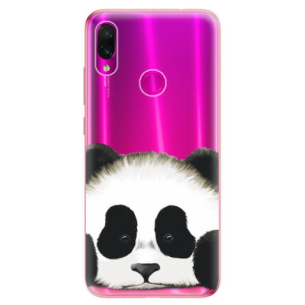 Odolné silikonové pouzdro iSaprio - Sad Panda - Xiaomi Redmi Note 7