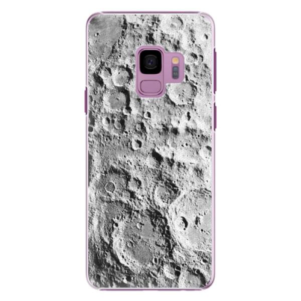 Plastové pouzdro iSaprio - Moon Surface - Samsung Galaxy S9