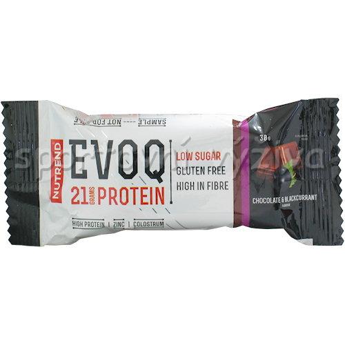 EVOQ Protein Low Carb Bar 30g - VZOREK-cokolada-a-cerny-rybiz