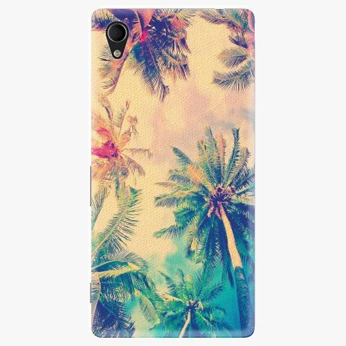 Plastový kryt iSaprio - Palm Beach - Sony Xperia M4