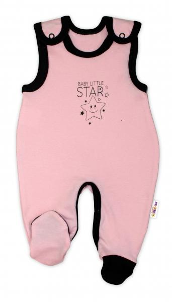 Kojenecké bavlněné dupačky Baby Nellys, Baby Little Star