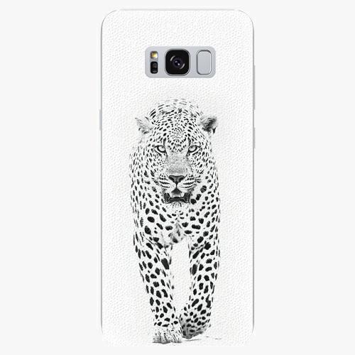 Silikonové pouzdro iSaprio - White Jaguar - Samsung Galaxy S8