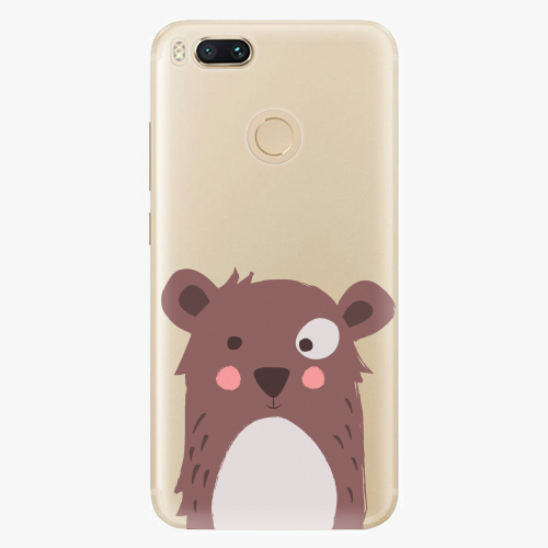 Plastový kryt iSaprio - Brown Bear - Xiaomi Mi A1