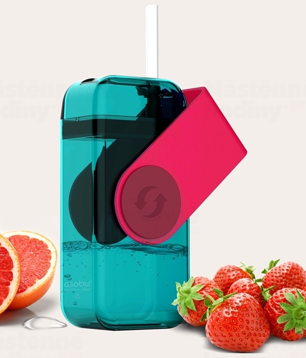 Juicy drink box JB300 290ml červený