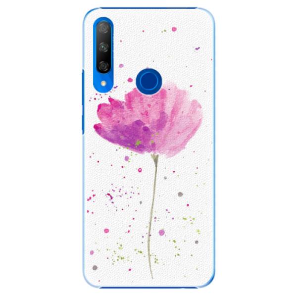 Plastové pouzdro iSaprio - Poppies - Huawei Honor 9X