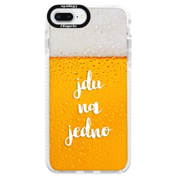 Silikonové pouzdro Bumper iSaprio - Jdu na jedno - iPhone 8 Plus