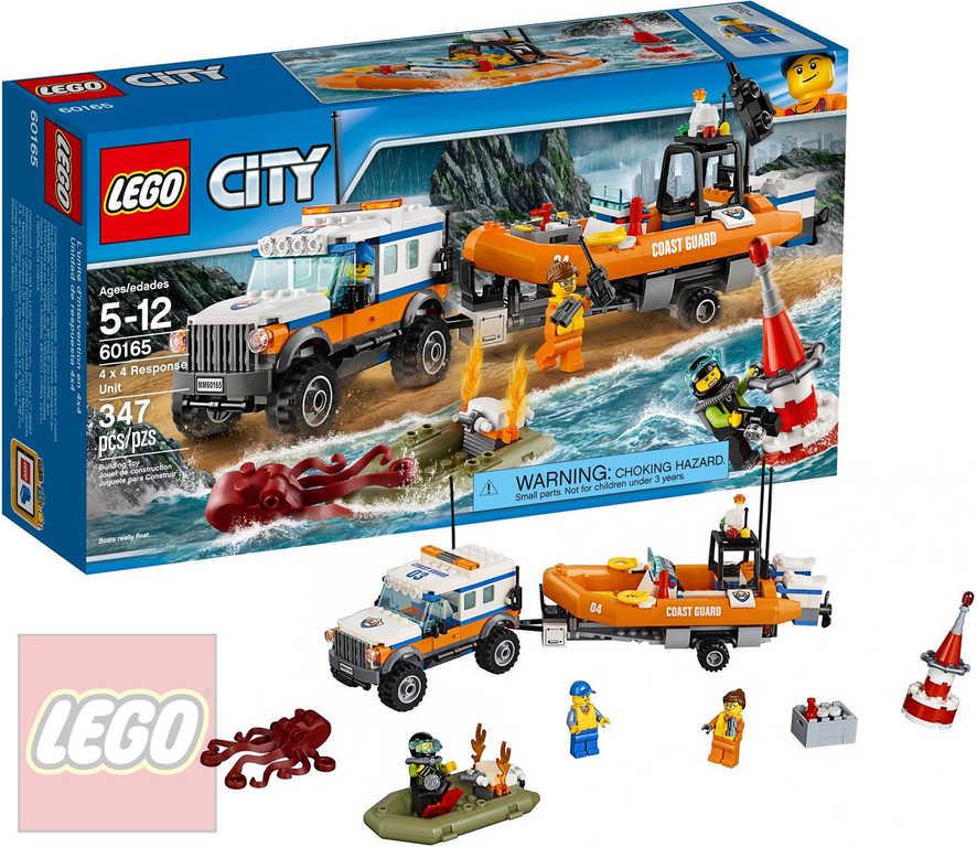 LEGO CITY Vozidlo zásahové jednotky 4x4 60165 STAVEBNICE