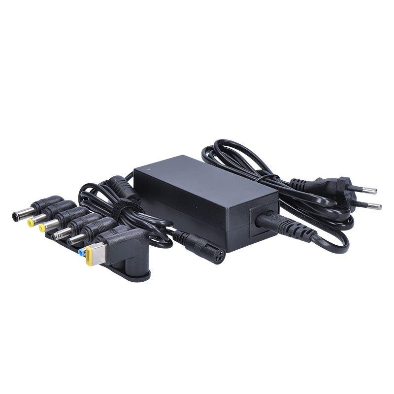 Solight univerzální zdroj pro netbooky a notebooky, 48W, 6 koncovek, automatický