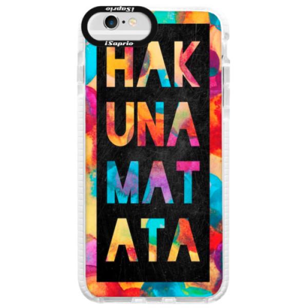 Silikonové pouzdro Bumper iSaprio - Hakuna Matata 01 - iPhone 6/6S