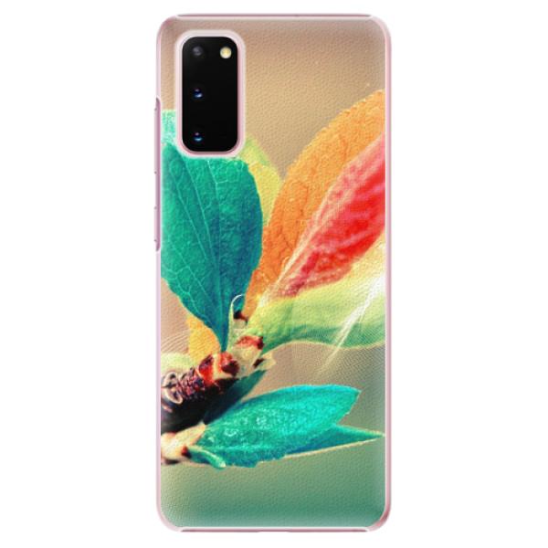 Plastové pouzdro iSaprio - Autumn 02 - Samsung Galaxy S20