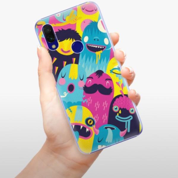 Plastové pouzdro iSaprio - Monsters - Xiaomi Redmi 7