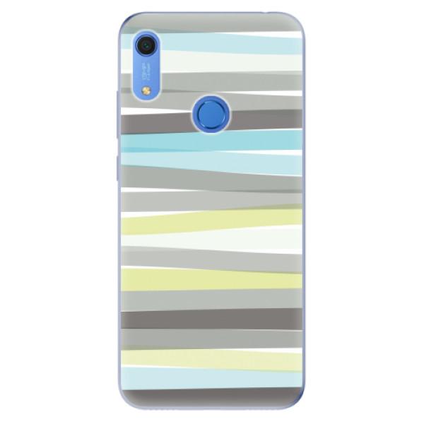 Odolné silikonové pouzdro iSaprio - Stripes - Huawei Y6s