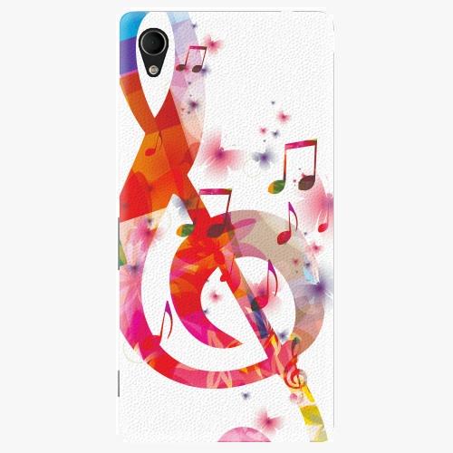 Plastový kryt iSaprio - Love Music - Sony Xperia M4