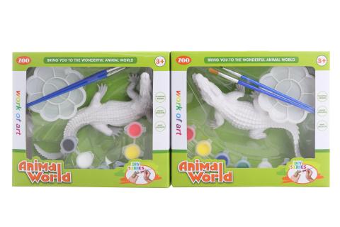 Malovací krokodýl