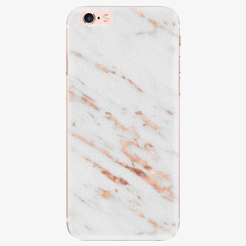 Plastový kryt iSaprio - Rose Gold Marble - iPhone 7