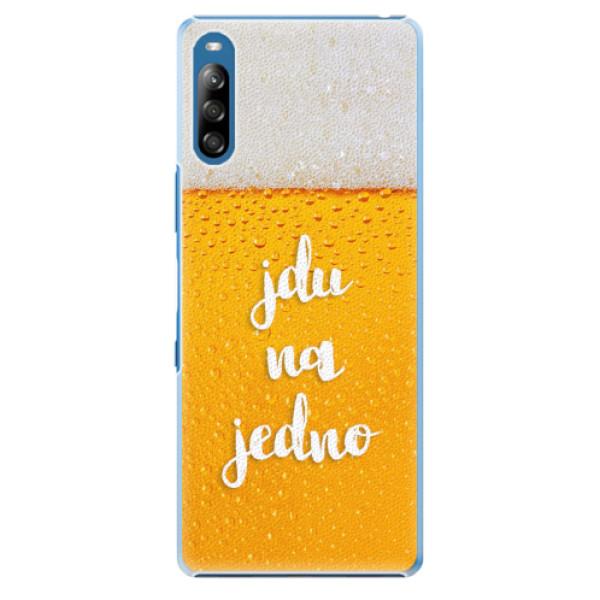 Plastové pouzdro iSaprio - Jdu na jedno - Sony Xperia L4