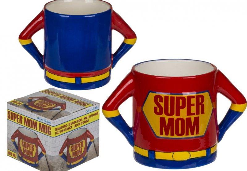 Keramický hrnek - super mom