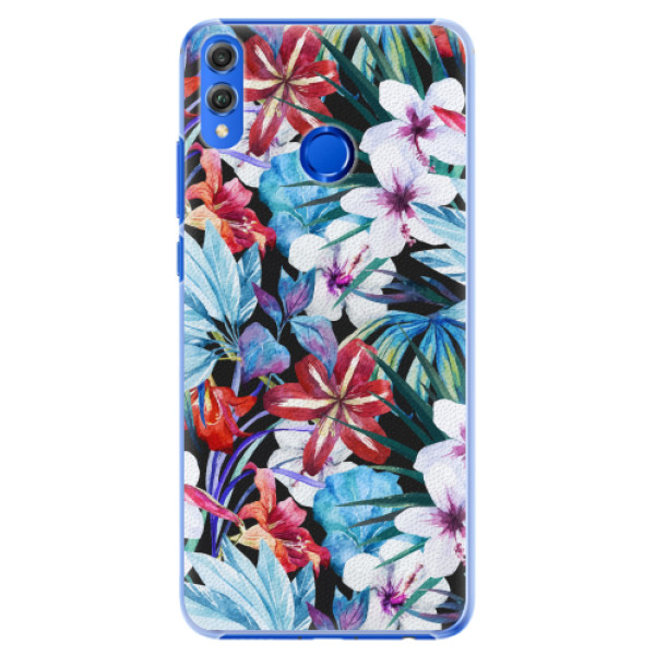 Plastové pouzdro iSaprio - Tropical Flowers 05 - Huawei Honor 8X