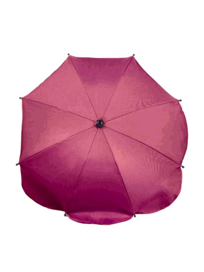 Slunečník na kočárek - růžovo-fialový - fialová