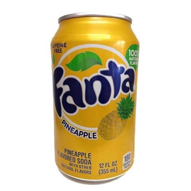 Fanta Pineapple 355ml (USA)