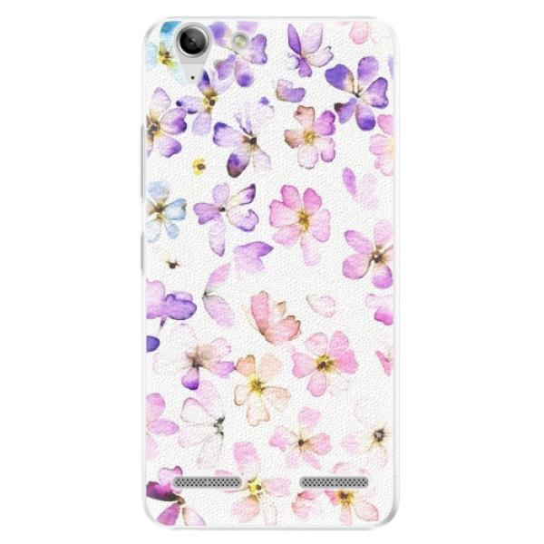 Plastové pouzdro iSaprio - Wildflowers - Lenovo Vibe K5