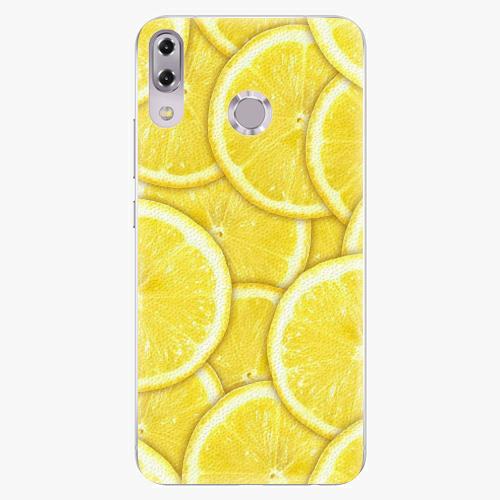 Plastový kryt iSaprio - Yellow - Asus ZenFone 5Z ZS620KL
