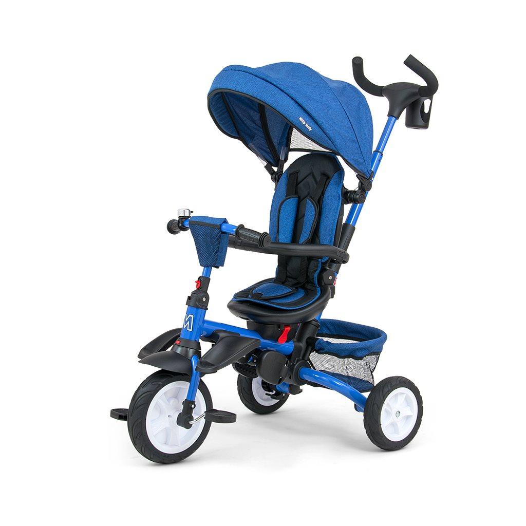 Dětská tříkolka 6v1 Milly Mally Stanley - navy - modrá