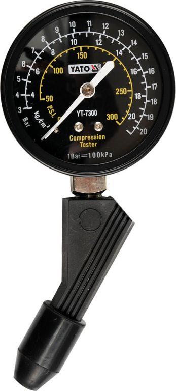 Měřící přístroj kompresního tlaku - plastový